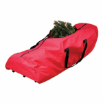 Dyno Seasonal Solutions 77000-1 Artificial Christmas Tree Storage Bag, Holds 7.5-Ft. Tree, Wheeled