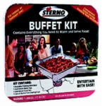 Sterno Group The 70158 4-Piece Buffet Kit