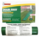 Thermwell Products DE200 Manual Downspout Extender, Green, 8-Ft.  x 7-In.