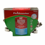 Fluidmaster 9WM60P2 Washing Machine Connector, Stainless Steel, 60-In., 2-Pk.