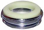 Larsen Supply 09-1651NL Chrome-Plated Aerator Adapter