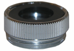 Larsen Supply 09-1605NL Chicago Faucet Aerator Adapter, Chrome-Plated, 13/16 x 24 Female Thread x 55/64-In. x 27 Male Thread