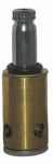 Larsen Supply S-521-1NL Lavatory & Kitchen Stem Deck For Kohler Faucets, Brass, Hot