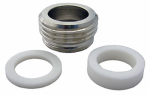 Larsen Supply 09-1453NL Male Garden Hose Aerator Adapter, 55/64 x 27 x 0.75-In.