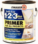 Zinsser & 249937 BullsEye 1-2-3 Plus Latex Primer, Gal.