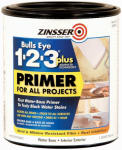 Zinsser & 249933 Bulls Eye 1-2-3 Plus Primer, 1-Qt.