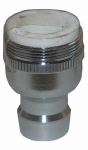 Larsen Supply 09-1931NL Dual-Thread Snap Nipple With Aerator