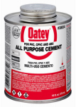 Oatey 30834 All-Purpose Solvent Cement, Clear, 16-oz.