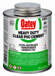 Oatey 30876 16-oz. Clear Heavy-Bodied PVC Pipe Cement