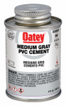 Oatey 30883 4-oz. Gray Medium-Bodied PVC Pipe Cement
