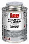 Oatey 30884TV 8OZ GRY MED Cement