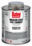 Oatey 30885 16-oz. Gray PVC Pipe Cement