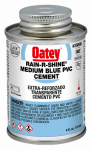 Oatey 30890 4-oz. Rain-R-Shine Blue PVC Pipe Cement