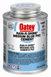 Oatey 30891 8-oz. Rain-R-Shine Blue PVC Pipe Cement