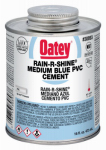 Oatey 30893 16-oz. Rain-R-Shine Blue PVC Pipe Cement