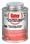 Oatey 30917 8-oz. Black ABS Pipe Cement