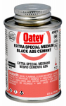 Oatey 30916 4-oz. Black ABS Pipe Cement