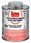 Oatey 30918 16-oz. Black ABS Pipe Cement