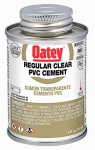 Oatey 31012 4-oz. Clear PVC Pipe Cement