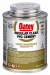Oatey 31013 8-oz. Clear PVC Pipe Cement