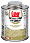 Oatey 31014 16-oz. Clear PVC Pipe Cement