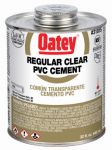 Oatey 31015 32-oz. Clear PVC Pipe Cement