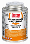 Oatey 31129 8-oz. Orange Medium-Bodied CPVC Pipe Cement