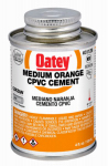 Oatey 31128 4-oz. Orange Medium-Bodied CPVC Pipe Cement