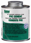 Oatey 31132 PVC All-Weather Cement, 16-oz.