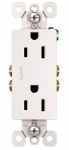 Pass & Seymour 885TRWCP7 10-Pack White 15-Amp 125-Volt Decorator Outlet