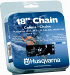 Husqvarna Forest & Garden 531300439 Chainsaw Chain, Narrow Kerf, 18-In.