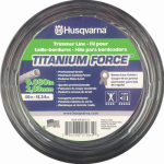 Husqvarna Forest & Garden 639005111H Titanium Force Trimmer Line, .080-In. x 50-Ft.