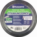 Husqvarna Forest & Garden 639005111H Titanium Force Trimmer Line, .080-In. x 50-Ft.
