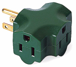 Kab Enterprise KAB3FT-1 3-Outlet Adapter