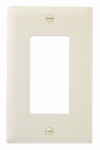 Pass & Seymour TP26LACP10 Wall Plate, Decorator Opening, Almond Nylon, 10-Pk.
