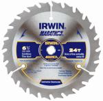 Irwin Industrial Tool 14029 6-1/2 Inch 24-TPI Marathon Circular Saw Blade