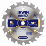 Irwin Industrial Tool 14027 5-1/2-Inch 18TPI Framing/Ripping Carbide Circular Saw Blade