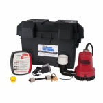 Glentronics BWE Emergency Battery-Backup Sump Pump