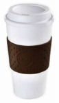 Lifetime Brands 2510-9963 To-Go Coffee Mug, Thermal Plastic, 16-oz.