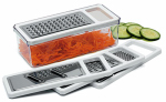 Progressive HG-87 Food Grater, With 3 Grates & Container
