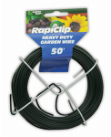 Luster Leaf 834 Heavy Duty Garden Wire, 1mm x 50-Ft.