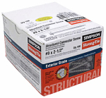 Simpson Strong Tie SD9212R100-R Connector Screw, #9 x 2.5-In.