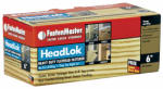 Omg FMHLGM006-50 Headlok Wood Screws, 6-In., 50-Pk.