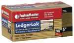 Omg FMLL005-50 Ledgerlok Wood Screws, 5-In., 50-Pk.