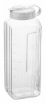 Arrow Plastic Mfg 146 Refrigerator Beverage Bottle, Clear PBA-Free Plastic, 1-1/4-Qt.