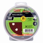 Ali Industries 4345 5-Inch 60-Grit Hook & Loop Sanding Disc