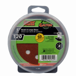 Ali Industries 4342 50-Pack 5-Inch 120-Grit Hook & Loop Sanding Disc