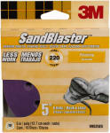 3M 99525ES 10-Pack 5-Inch 220-Grit Sanding Disc