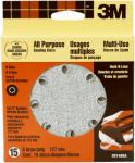 3M 99148 15-Pack 5-Inch Coarse-Grit Hook & Loop Sanding Disc