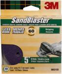 3M 99521ES-9-B 10-Pack 5-Inch 60-Grit Sanding Disc